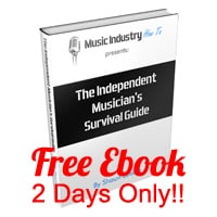 Free music business ebook 2 days only