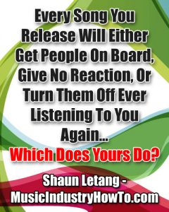 Quote for musicians number 3 By Shaun Letang