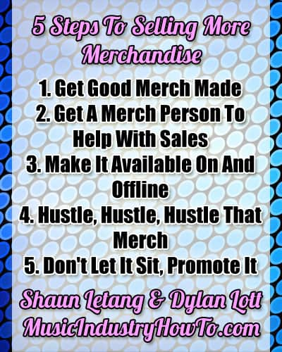 How To Sell More Merch