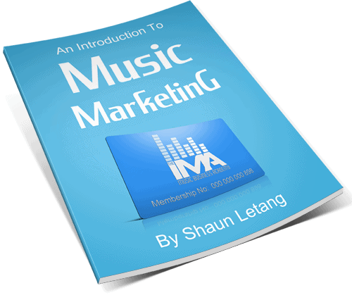 An Introduction To Music Marketing Cover Front 3D Made SMALLER 2