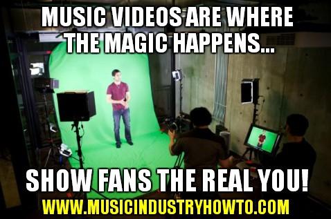 9 - Music videos where the magic happens