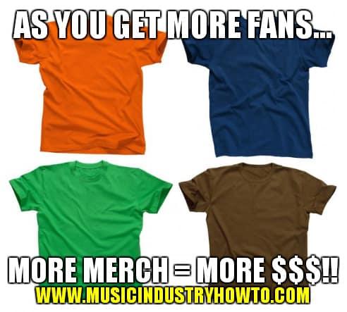 More Fans More Merch More Money