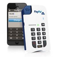 Paypal chip and pin credit card reader