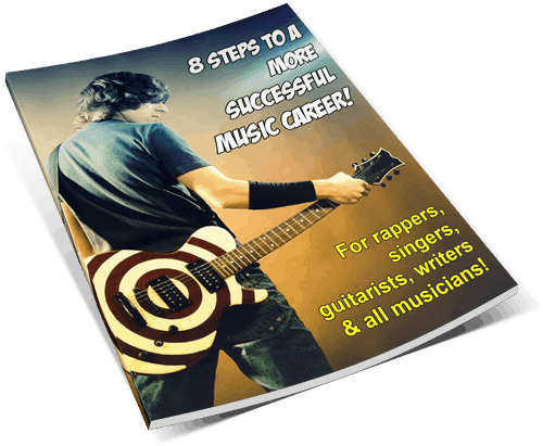 8 Steps To A More Successful Music Career Free Ebook