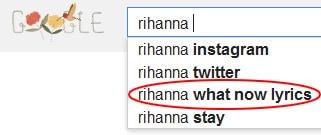 Rihanna what now lyrics