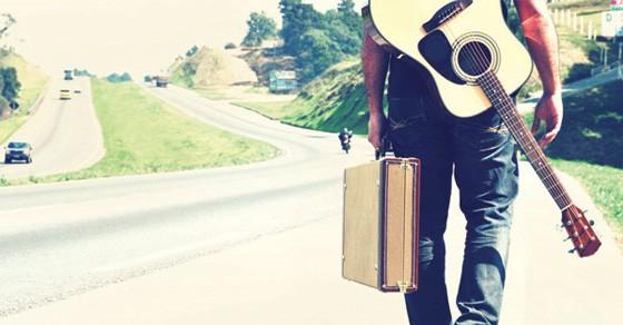 Man pursuing a music career