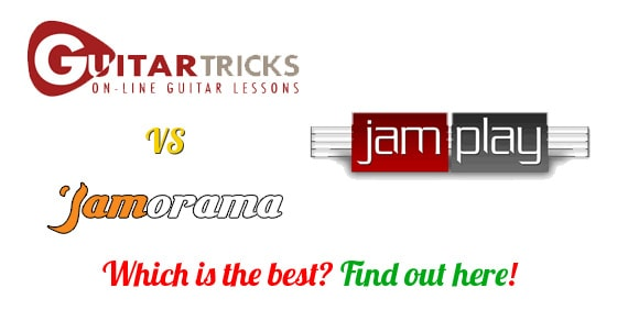 Guitar Tricks Vs Jamplay Vs Jamorama