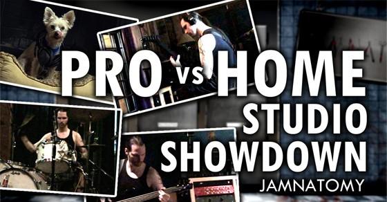 Experiment - A Pro Studio Vs Home Studio Comparison