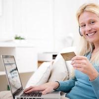 Fan buying music online