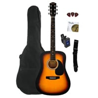 7 The best beginners acoustic guitar bundles is the Fender Squier Dreadnought