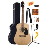 2 Fender Squier Acoustic Guitar Bundle