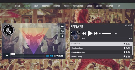Top WordPress Website Themes For Musicians