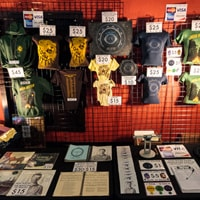 A good merch table example for musicians