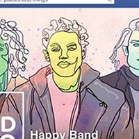 Make a cool Facebook profile image for musicians