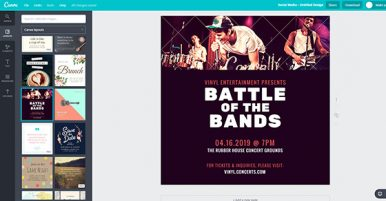 How To Use Canva To Create Promotional Graphics For Your Music