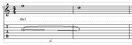 Slide Guitar example 2