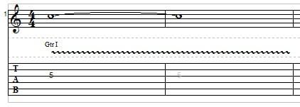 Slide Guitar example 3