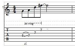 Slide Guitar example 4