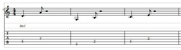 Jazz bass line example 2