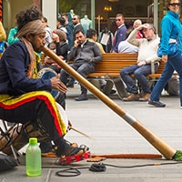 Making money performing as a busker