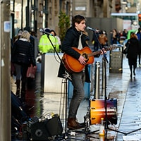 Ways to get into street performing and busking