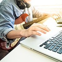 How musician can make money from home