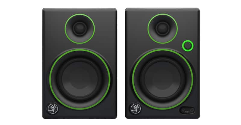 Top cheap choice: Mackie CR3 Studio Monitors