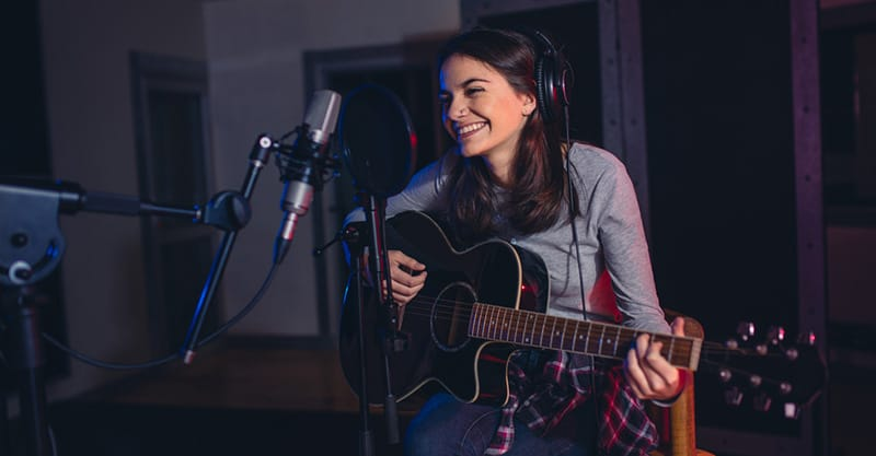 How to record songs for cheap