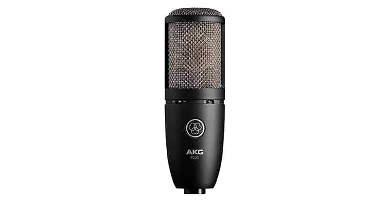 AKG P220 Vocal Condenser, One Of The Best Studio Microphone
