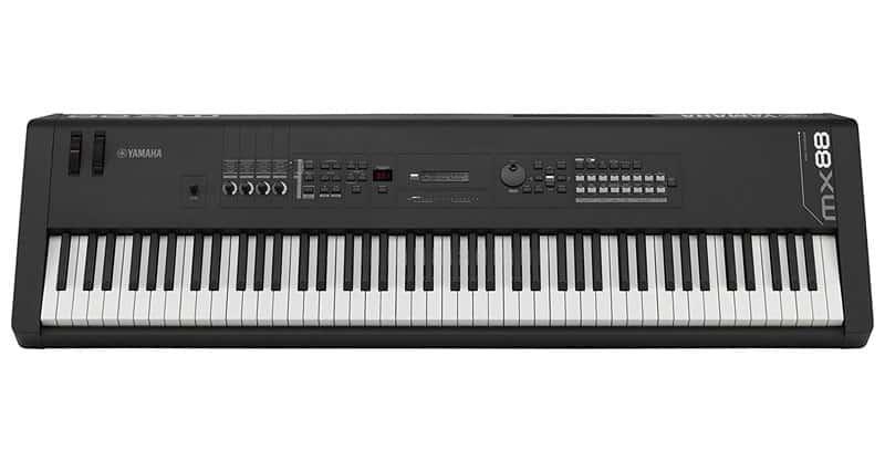 Yamaha MX88 keyboard discounted on sale