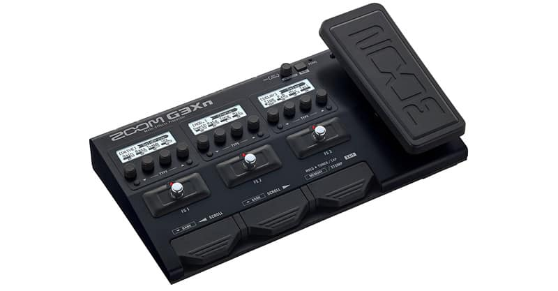 Zoom G3Xn Multi-Effects Processor With Expression Pedal For Guitarists