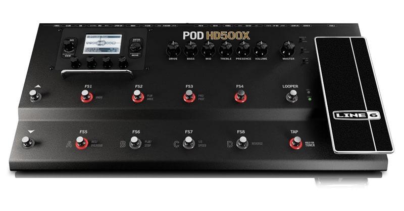 Line 6 POD HD500X Guitar Floor Multi-Effects Pedal