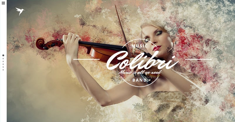 Colibri – WP Theme For Busy Musicians