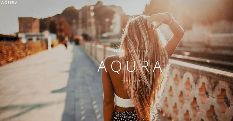 AQURA – Music Bands Musicians & DJ's WordPress Theme