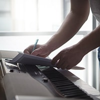 Song writing speed example