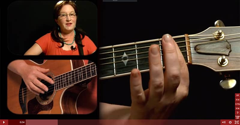 The best online guitar lessons are Guitar Tricks