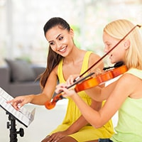 Can you teach music at home without being formally qualified?