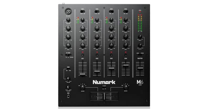 Numark M6 USB | Professional Four-Channel USB DJ Mixer