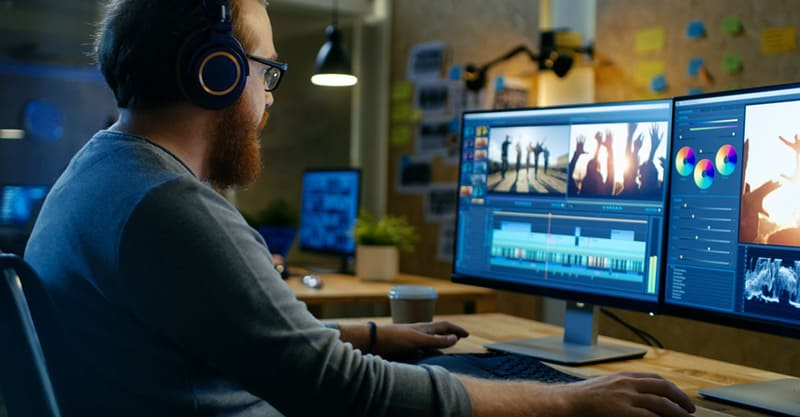 Video editing for musicians