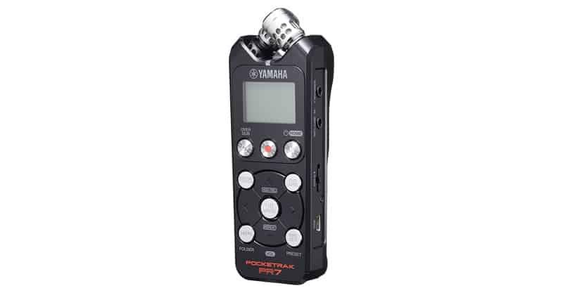 Yamaha Pocketrak PR7 Pocket Recorder With Overdub Functions