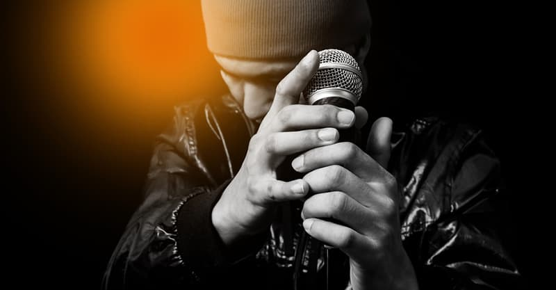 How To Hold A Microphone When Singing Or Rapping