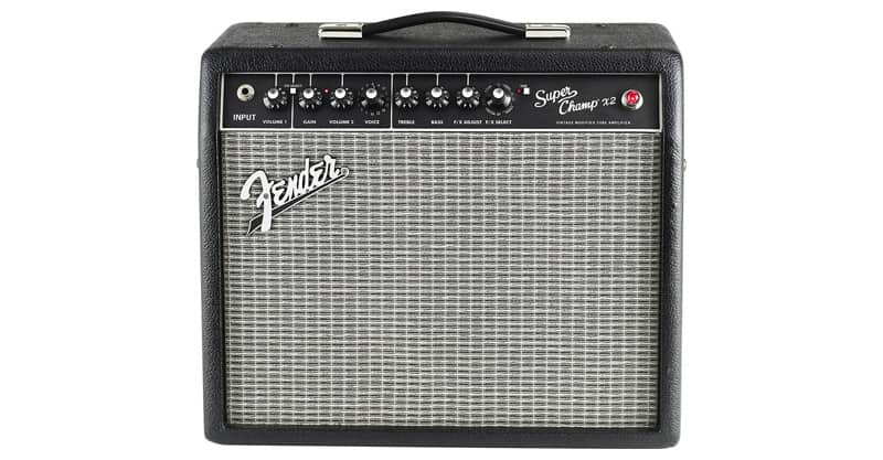 Fender Super Champ X2 15-Watt 1x10-Inch Guitar Combo