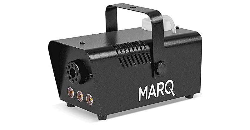 MARQ Fog 400 LED | 400W Water-Based Special Effects Fog Machine With Amber-Color LED Lights