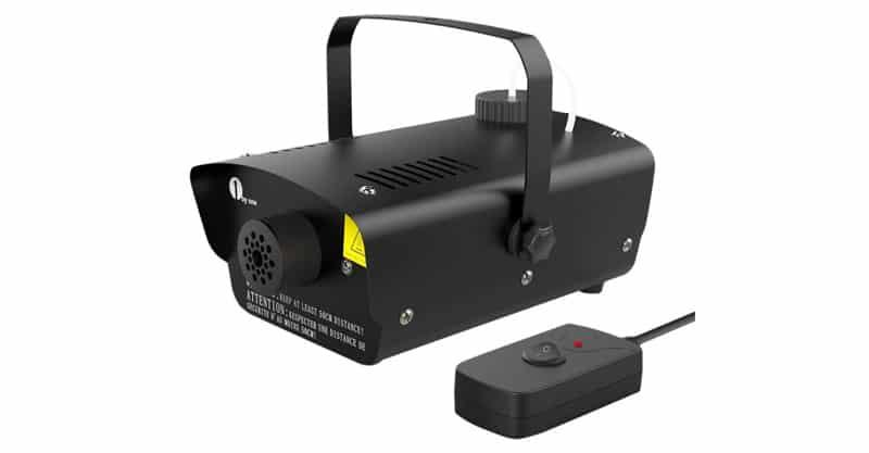 1byone Halloween Fog Machine With Wired Remote Control, 400-Watt Smoke Machine