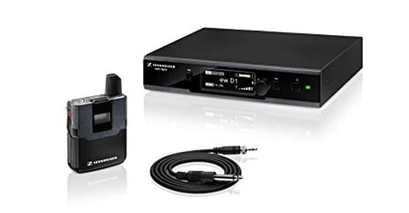Sennheiser EW D1-CI1 Evolution Wireless D1 Digital Instrument System With CL 1 Instrument Cable