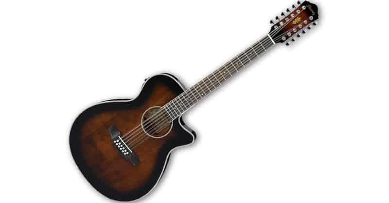 Ibanez AEG1812II DVS 12 String Acoustic Electric Guitar