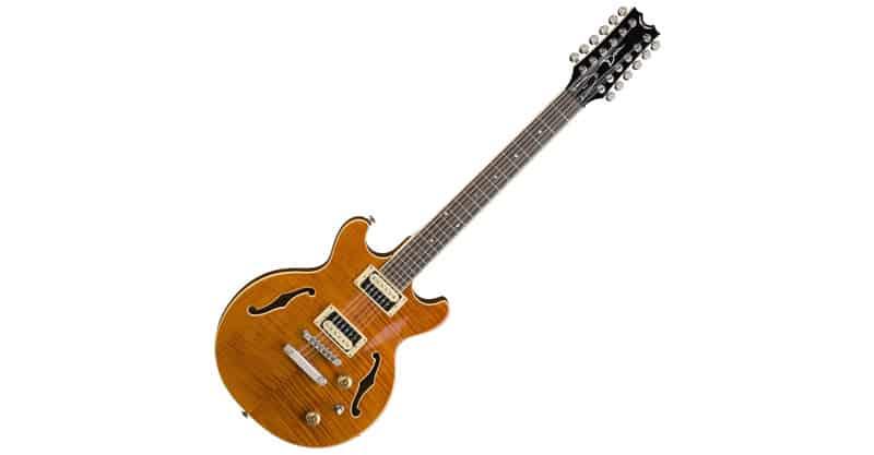 Dean BOCA12 TAM Boca 12 String – Trans Amber Electric Guitar