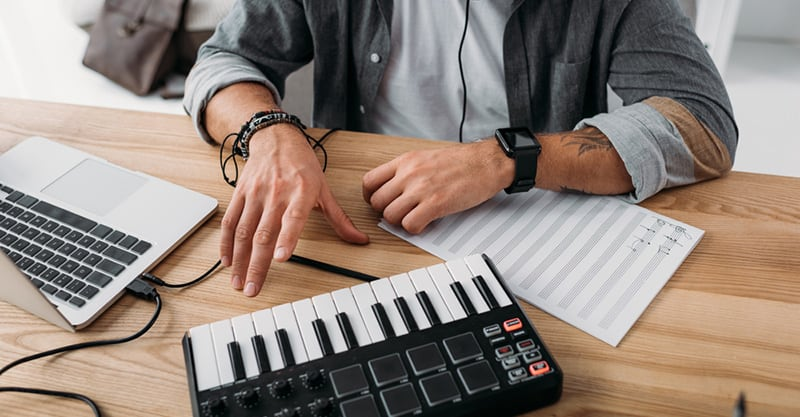 Landing a job in music
