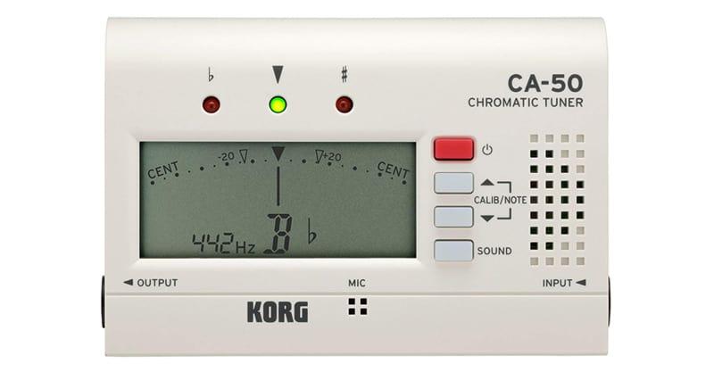 Korg CA-50 Tuner