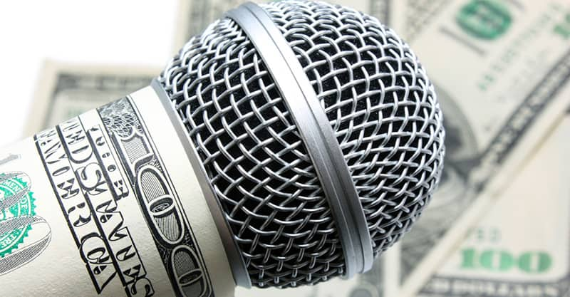 Making a living as a vocalist